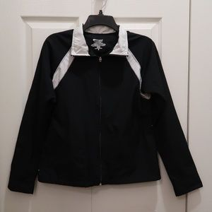 Champion Black and White Windbreaker Jacket
